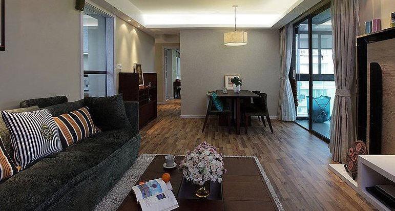 古朴日式风格家居室内设计装修图