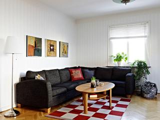 个性多彩复古北欧波普风混搭小公寓设计