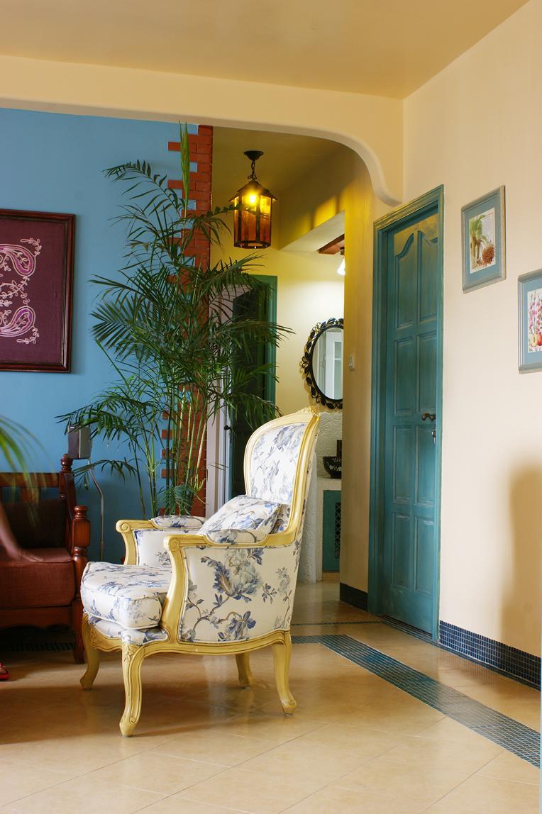 欧式地中海风格小户型室内装修图片