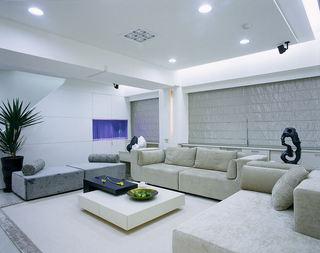 明亮简约两室两厅装潢案例图