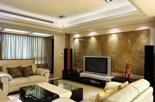 78平现代二居室内装潢图