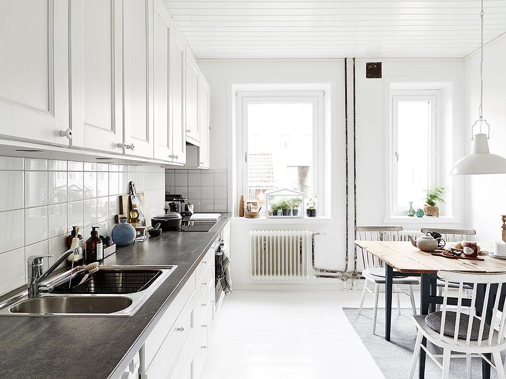 白色北欧风情 厨餐厅设计