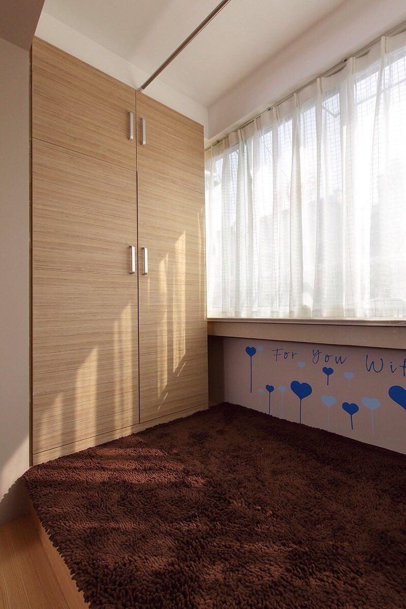 宜家家居原木衣柜设计