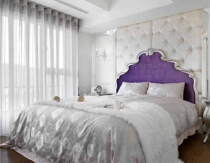 奢华施华洛欧式卧室效果图