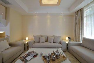 简约宜家客厅 布艺沙发设计