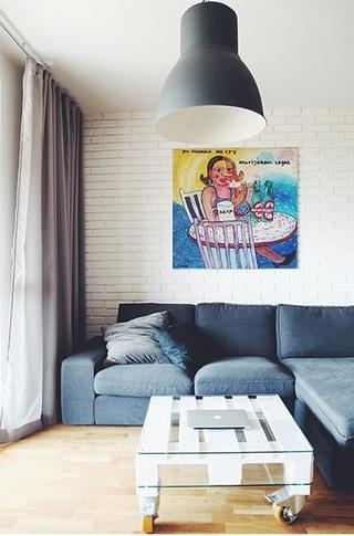 复古北欧家居公寓混搭设计