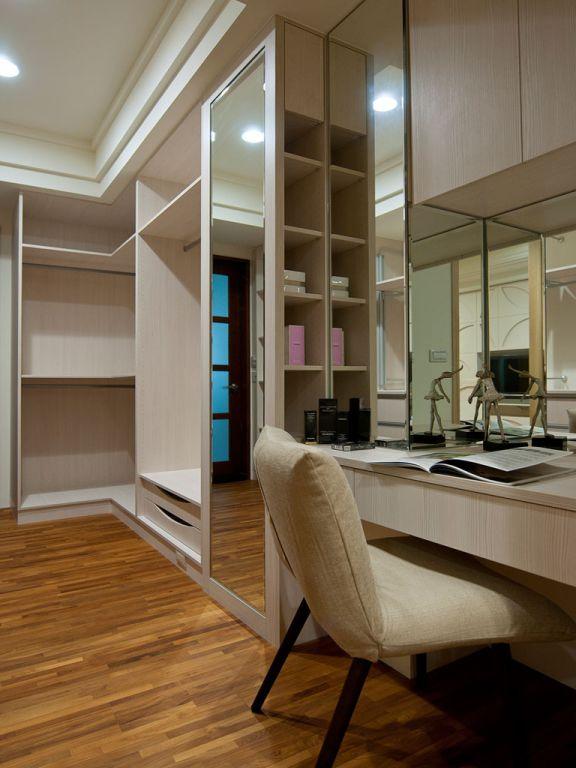 现代家装书房收纳柜设计
