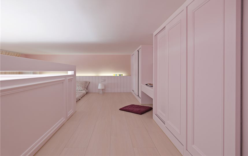 白色简约家装室内样板间欣赏