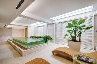 欧式豪华别墅休闲区设计
