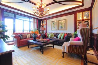 多彩东南亚装饰风格公寓室内装潢美图