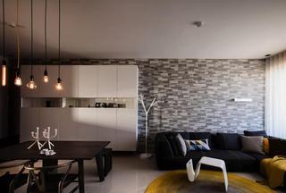 个性摩登北欧混搭公寓设计