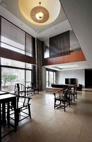 素雅简约新中式别墅装饰设计