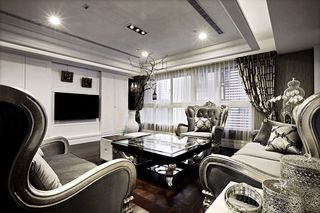 奢华古典欧式客厅装饰大全