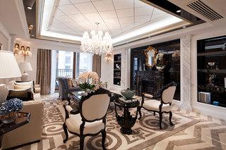 时尚欧式新古典设计 三室两厅美宅装饰