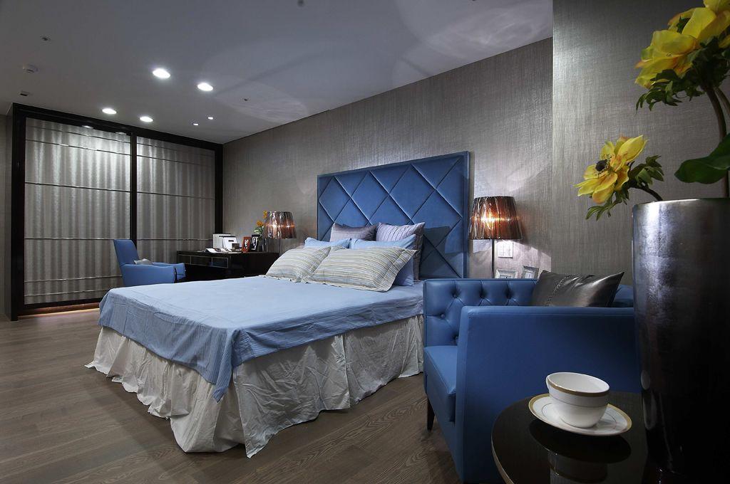 时尚现代欧式卧室效果图