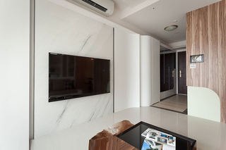 家装简约现代电视墙设计
