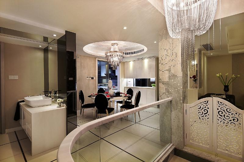 雅致新古典主义风格别墅室内设计装修图