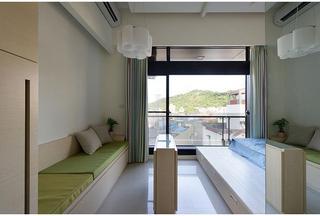 20平简约创意单身公寓装修图
