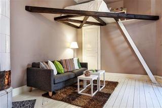 时尚巧妙北欧风 小户型单身公寓设计