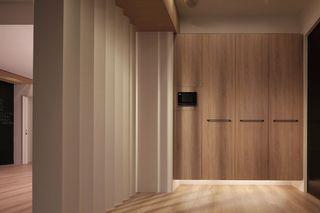 日式风格家装隔断墙设计