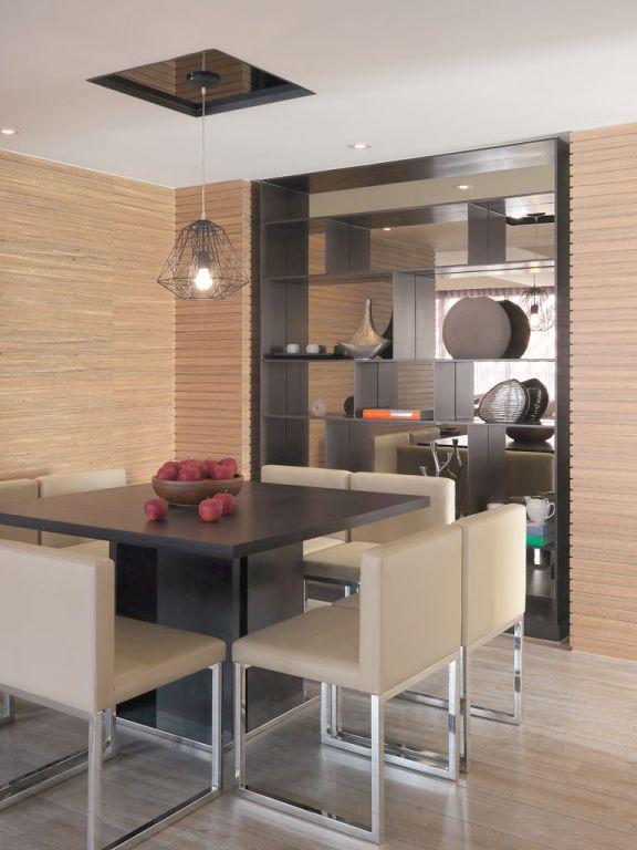 最新时尚现代装修家居餐厅效果图