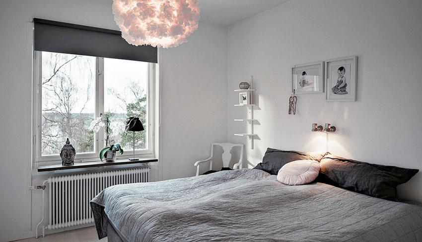 时尚现代北欧风格卧室效果图