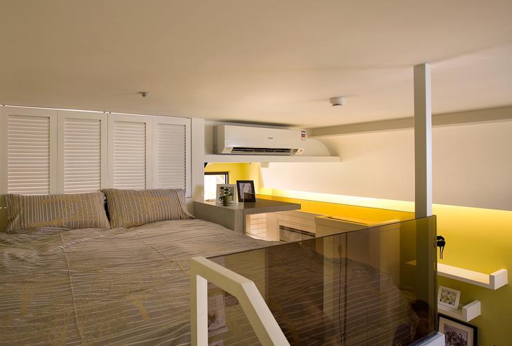 现代小户型跃层卧室设计
