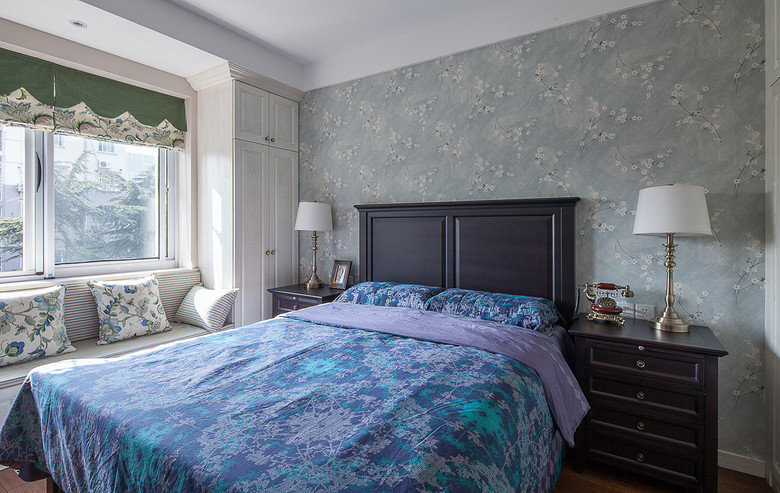 美式乡村风格二居室装修图片