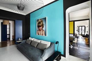 摩登复古波普风 公寓混搭设计欣赏