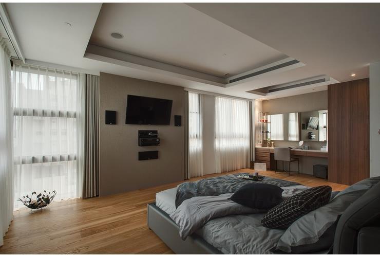 最新现代公寓卧室装修