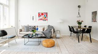 清新多彩北欧风情小公寓设计