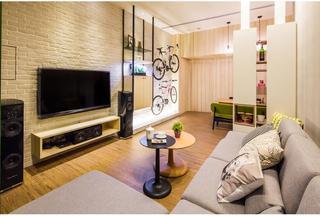 唯美艺术简约小户型公寓室内设计装潢图