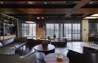 个性美式工业风公寓效果图