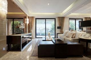 280平豪华现代别墅室内效果图