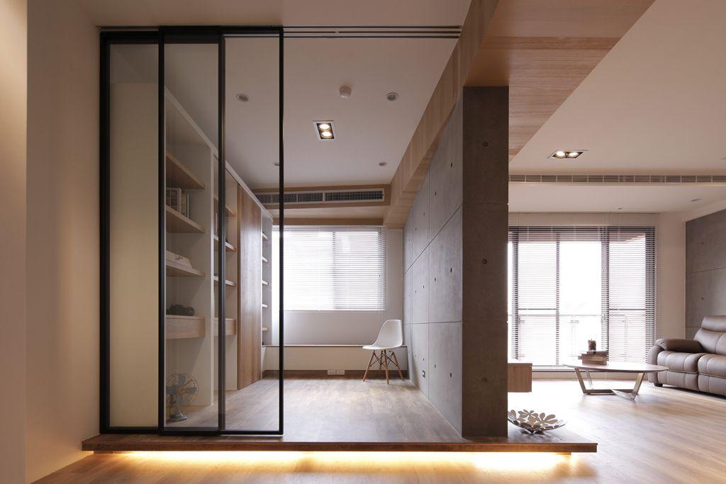 日式家居室内隔断推拉门设计_齐家网装修效果图