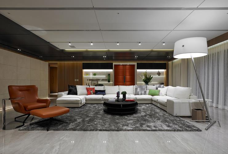 时尚现代风格别墅室内设计