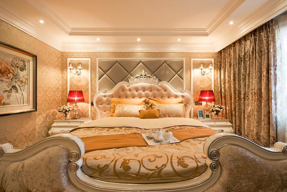 奢华欧式新古典卧室装饰大全