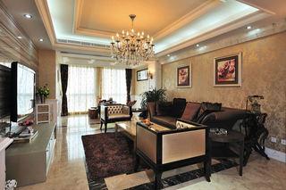 优雅欧式新古典风格三室两厅设计