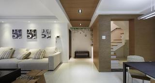 精致简约设计复式家装效果图