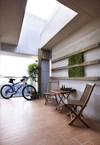 家装简约风格阳台设计装修
