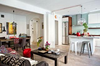 多彩复古北欧风情 小公寓混搭设计