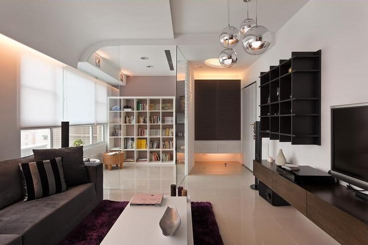 温馨宜家风格二居装饰设计图