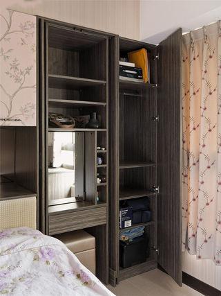 时尚现代风卧室衣柜内部效果图