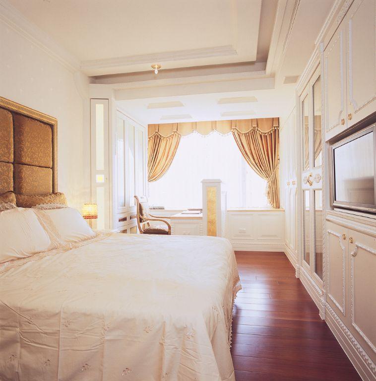 温馨舒适简欧卧室室内设计装修图