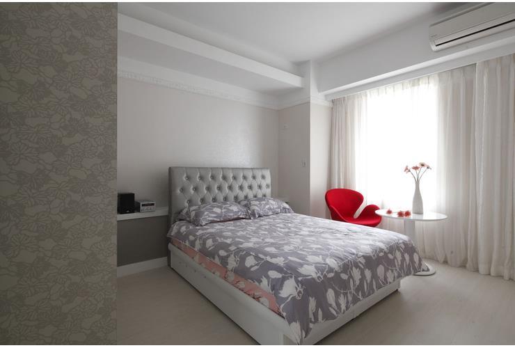 白色简欧风格 卧室装饰效果图