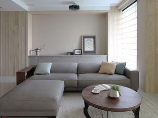 78平简约现代 两室两厅装修设计