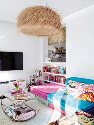 多彩复古异域风情 小公寓混搭设计