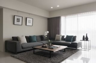 78平二居室简约设计装修