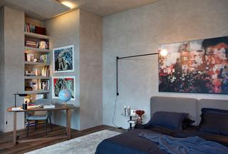 复古北欧工业风 开放式公寓混搭设计