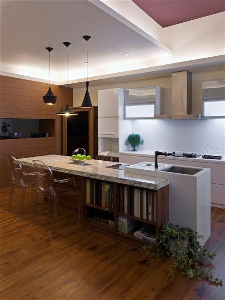 简约设计现代家装吧台设计